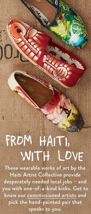 Haiti Aritst Collective - get to know our commissioned artists