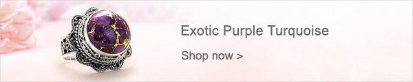 Exotic Purple Turquoise