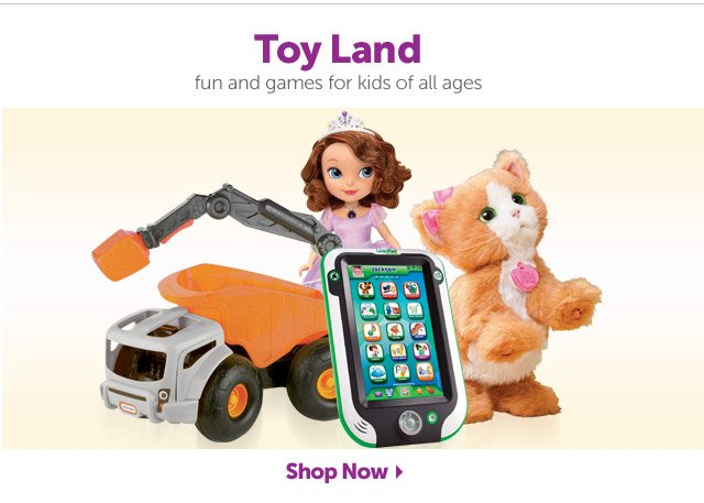 Toy Land - fun and games for kids of all ages - Shop Now