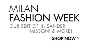 MILAN FASHION WEEK! JIL SANDER, MISSONI AND MORE!