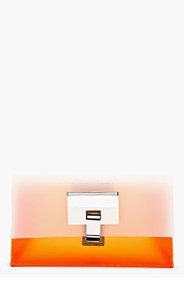 PROENZA SCHOULER Orangina Frosted Extra Small Lunch Bag clutch for women