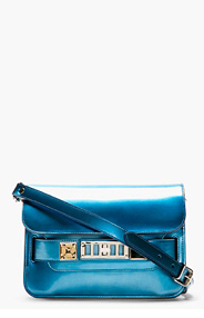 PROENZA SCHOULER Ocean Blue PS11 Mini Shoulder Bag for women
