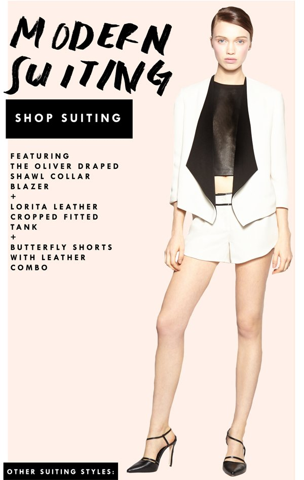 Shop Modern Suiting