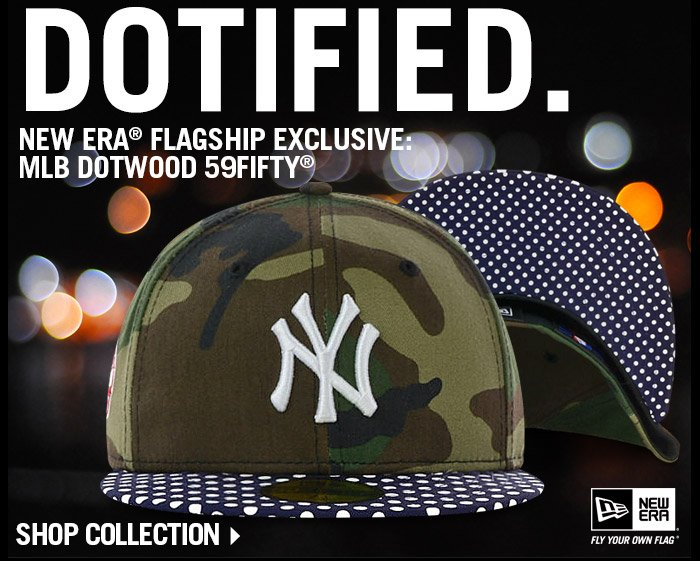 New Era Flagship Exclusive: MLB Dotwood 59FIFTY - Shop Now!