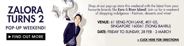 Visit Our Pop Up Store From 27 Feb to 2 Mar