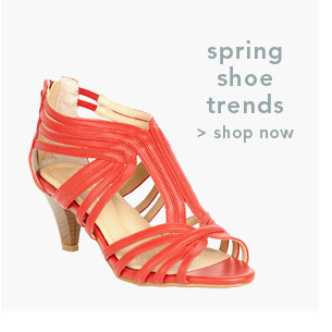 Shop Spring Shoe Trends