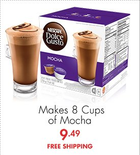 Makes 8 Cups of Mocha 9.49 FREE SHIPPING