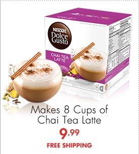 Makes 8 Cups of Chai Tea Latte 9.99 FREE SHIPPING
