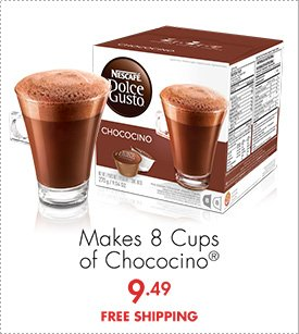 Makes 8 Cups of Chococino® 9.49 FREE SHIPPING