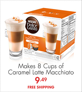Makes 8 Cups of Caramel Latte Macchiato 9.49 FREE SHIPPING
