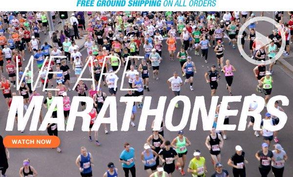 Watch We Are Marathoners Video - Hero