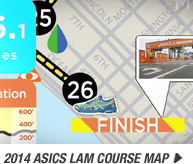 View the 2014 ASICS LAM Course Map - Promo B