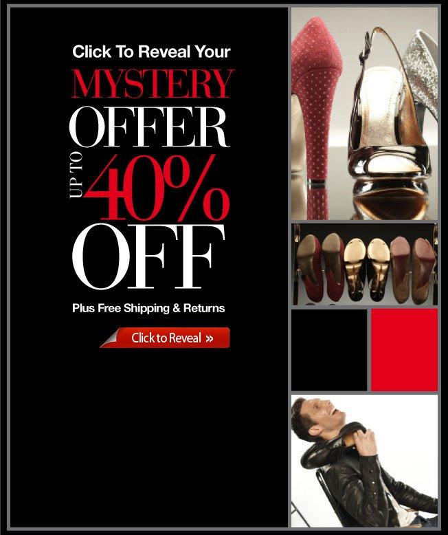 Mystery Sale!