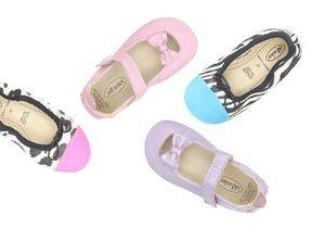 Pastels & Prints: Kids' Shoes