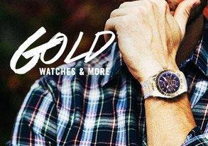 Shop Go for the Gold: Watches & More