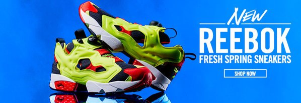 Shop NEW Reebok: Throwback Kicks & More