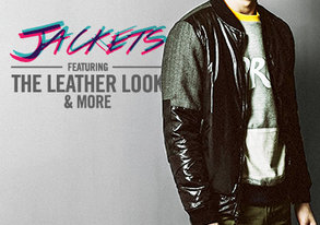 Shop Get the Leather Look: Jackets & More