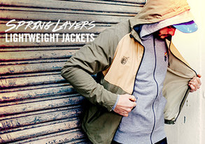 Shop Spring Layers: Lightweight Jackets