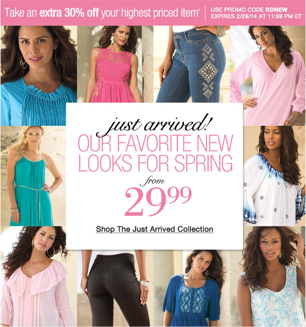 Our Favorite new looks for Spring!