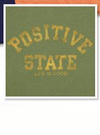 Men's Positive State Creamy Tee