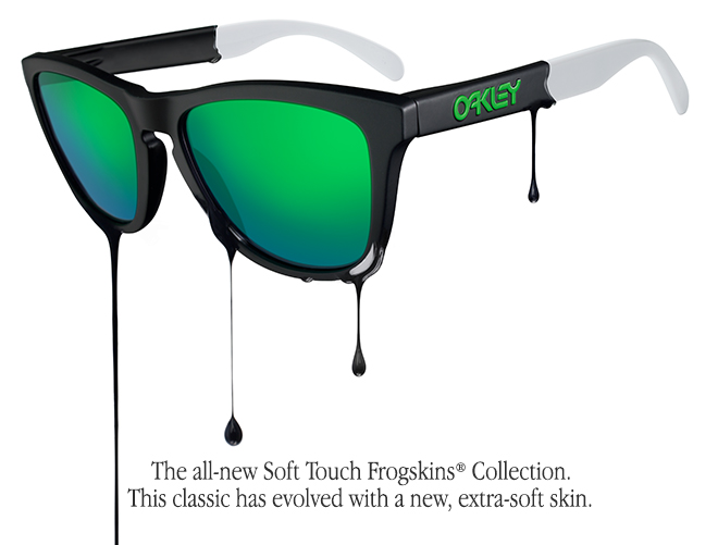 The all-new Soft Touch Frogskins® Collection.