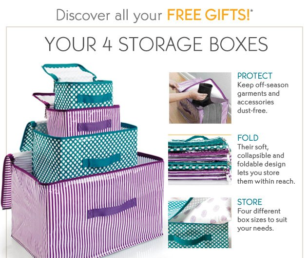Discover all your FREE GIFTS!*