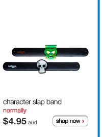 character slapband normally $4.95aud shop now >