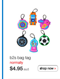 b2s bag tag normally $4.95aud shop now >
