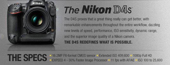 Adorama - Nikon D4s