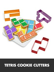 tetris cookie cutters