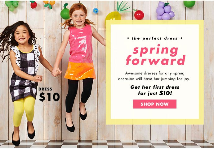 Dresses For Any Spring Occasion - Just $10!