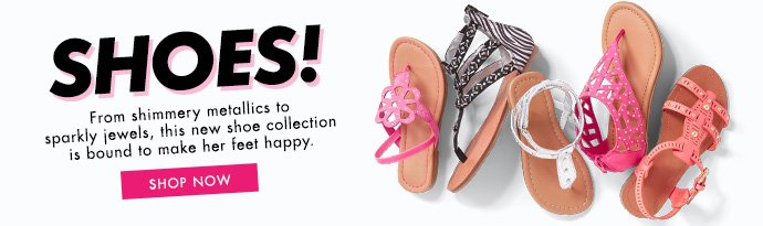 Shoes! Starting At $12.95.