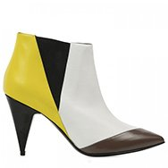 PIERRE HARDY - Tri-tone leather ankle boots