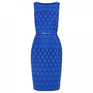 MAXMARA - Brocade cotton blend dress