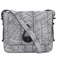 KENZO - Printed leather shoulder bag