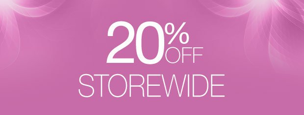 20% off storewide use code SPRING20 »