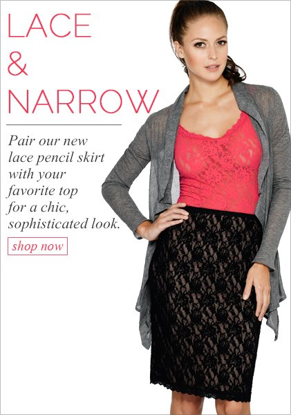 Introducing Our New Pencil Skirt!