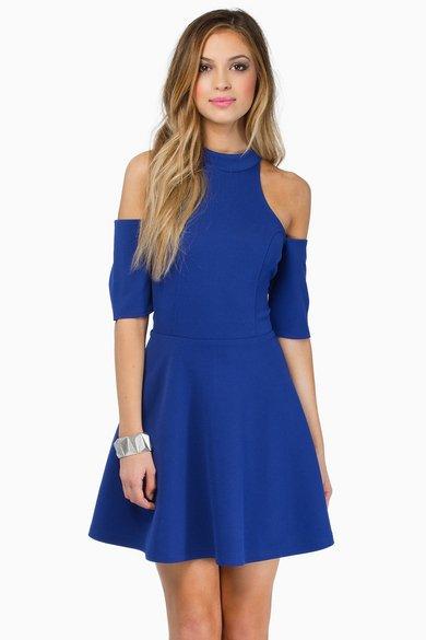 Vindy Cold Shoulder Dress 39