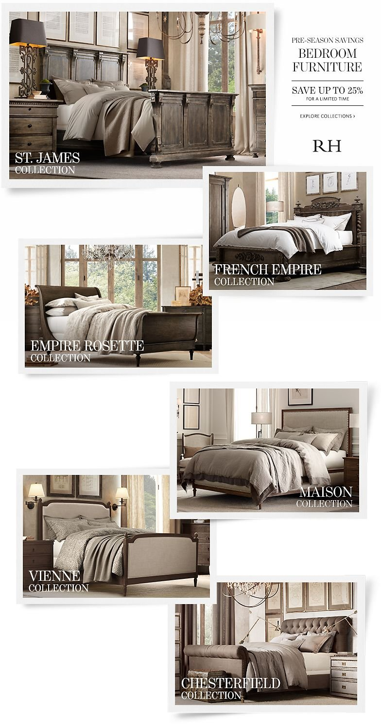 Pre-Season Savings on Bedroom Furniture - Save Up to 25% For a Limited Time.