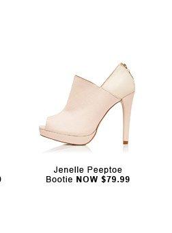 Jenelle Peeptoe Bootie