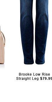 Brooke Low Rise Straight Leg