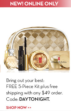 NEW! ONLINE ONLY. Bring out your best: FREE 5-piece Kit plus free shipping with any $49 order. Code DAYTONIGHT. SHOP NOW.