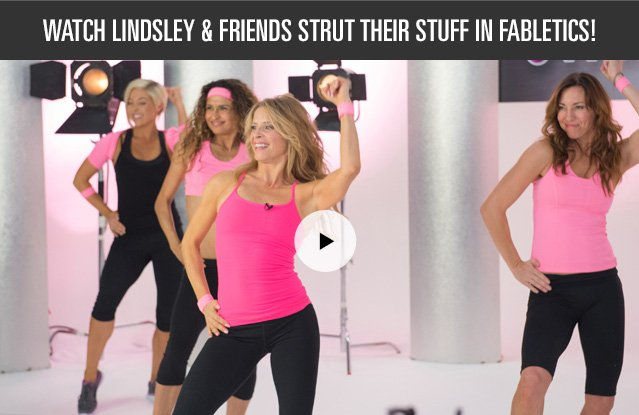 Watch Lindsley and Friends Strut Their Stuff in Fabletics