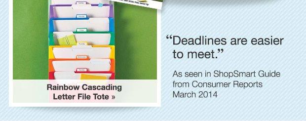 Deadlines are easier to meet