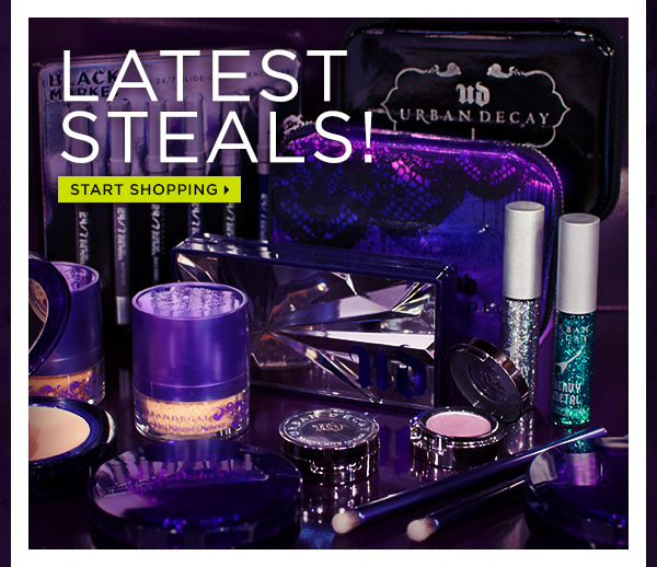 Latest steals! Start shopping >