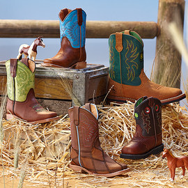 Best of the West: Boys' Cowboy Boots