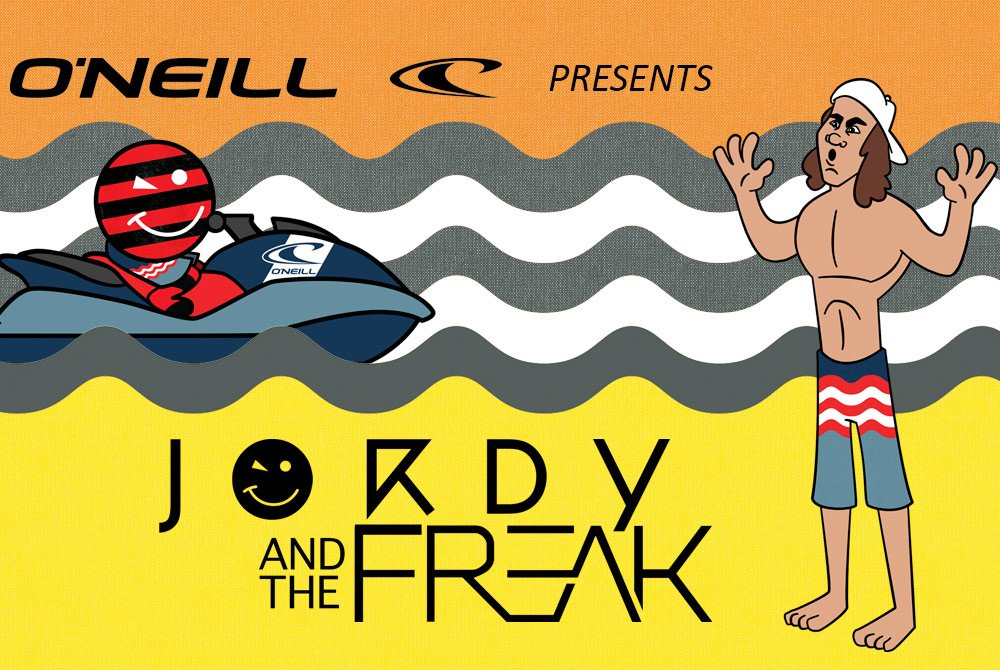 The Freak Stole Jordy's Boardshorts!