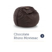 Moviesac with Chocolate Rhinoplush Cover