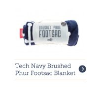 Footsac Blanket - Tech Navy Brushed Phur