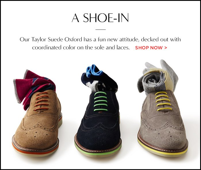 A SHOE-IN | SHOP NOW
